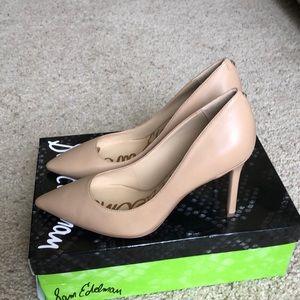 Sam Edelman nude heels size 7.5